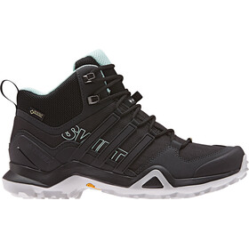 adidas TERREX Swift R2 GTX Buty outdoorowe Mid Cut Kobiety, core black/core black/ash green